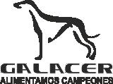 Galacer. Alimentamos campeones Logo