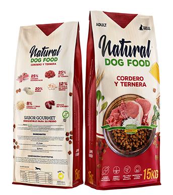 Natural Dog - Ternera y Cordero - Piensos Galacer